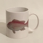 Fish Coffee Mug, 11oz.