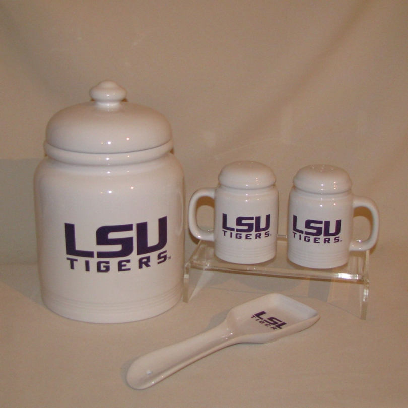 LSU Gifts; LSU Kitchen Items