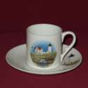 USA Coastal Lighthouse Demitasse Cup & Saucer