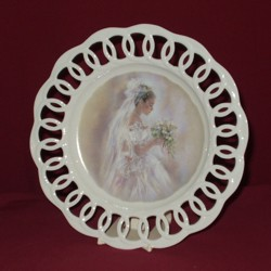 Bridal Decorative Plate, 10