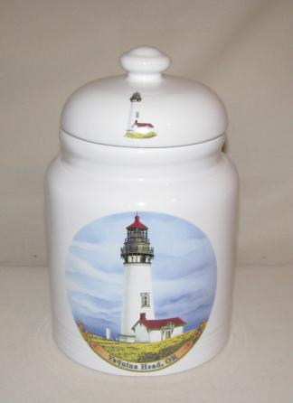 USA Coastal Lighthouse Cookie Jar, 9