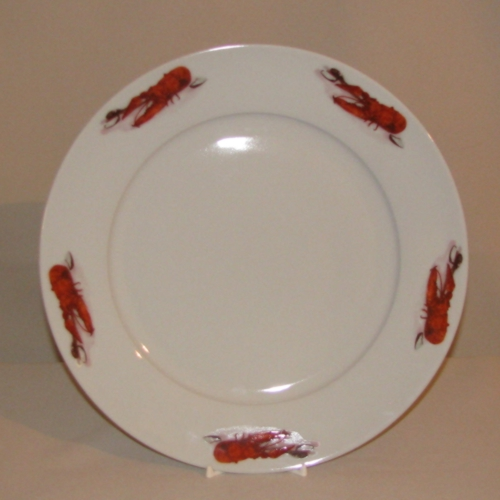 Crawfish / Lobster Plate, 10 5/8