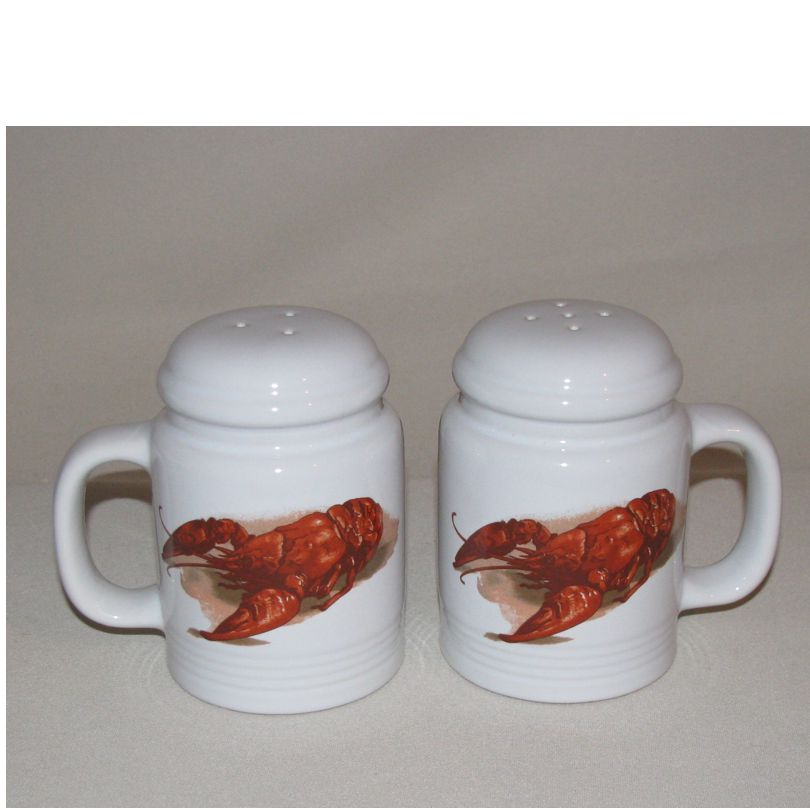 Crawfish / Lobster Salt & Pepper Shakers (range style)