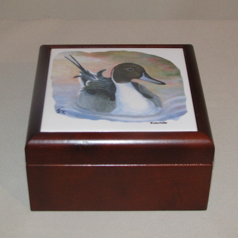 Duck Keepsake Box, 5 1/8