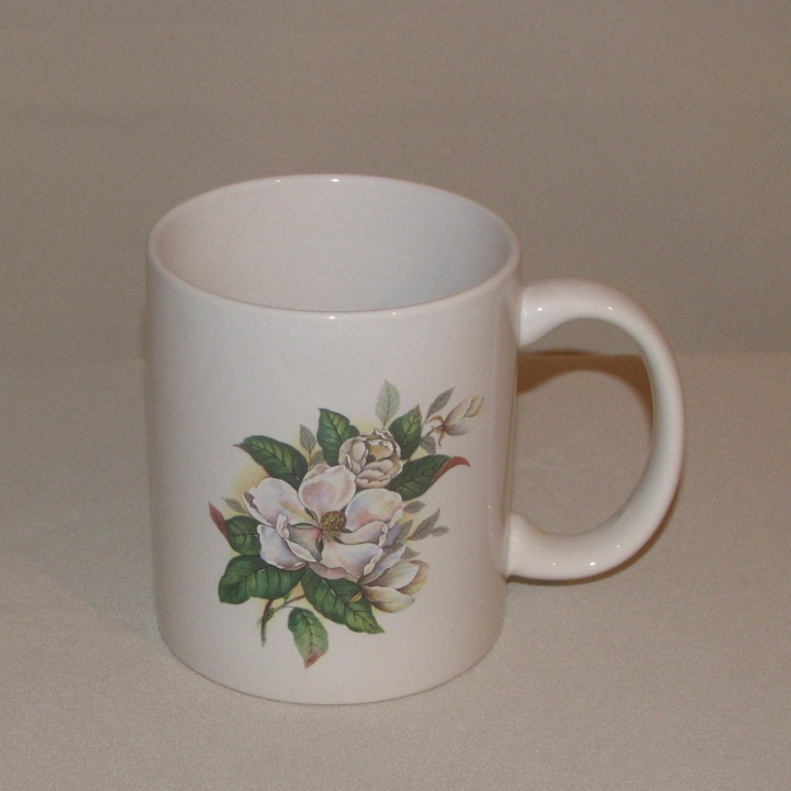Magnolia C-Handle Mug, 10oz.
