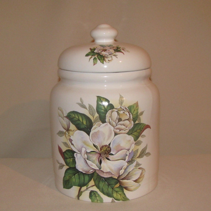 Alice Magnolia Cookie Jar, 10