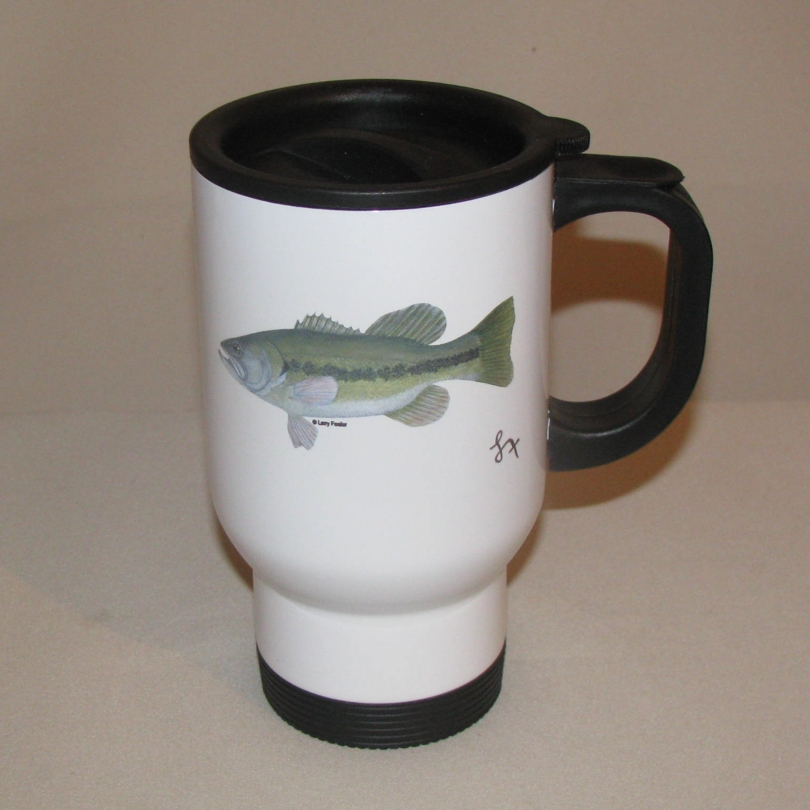 Fish Travel Mug, 14oz.