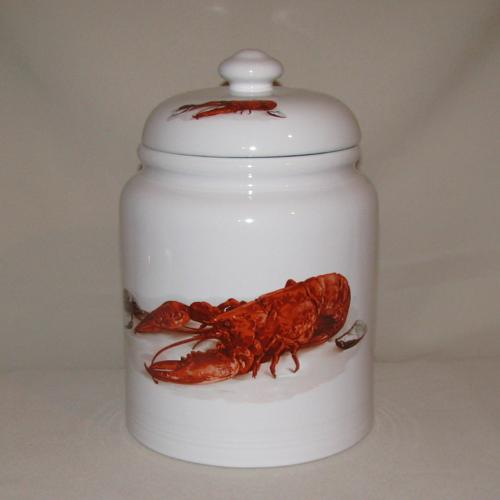 Crawfish / Lobster Cookie Jar, 10