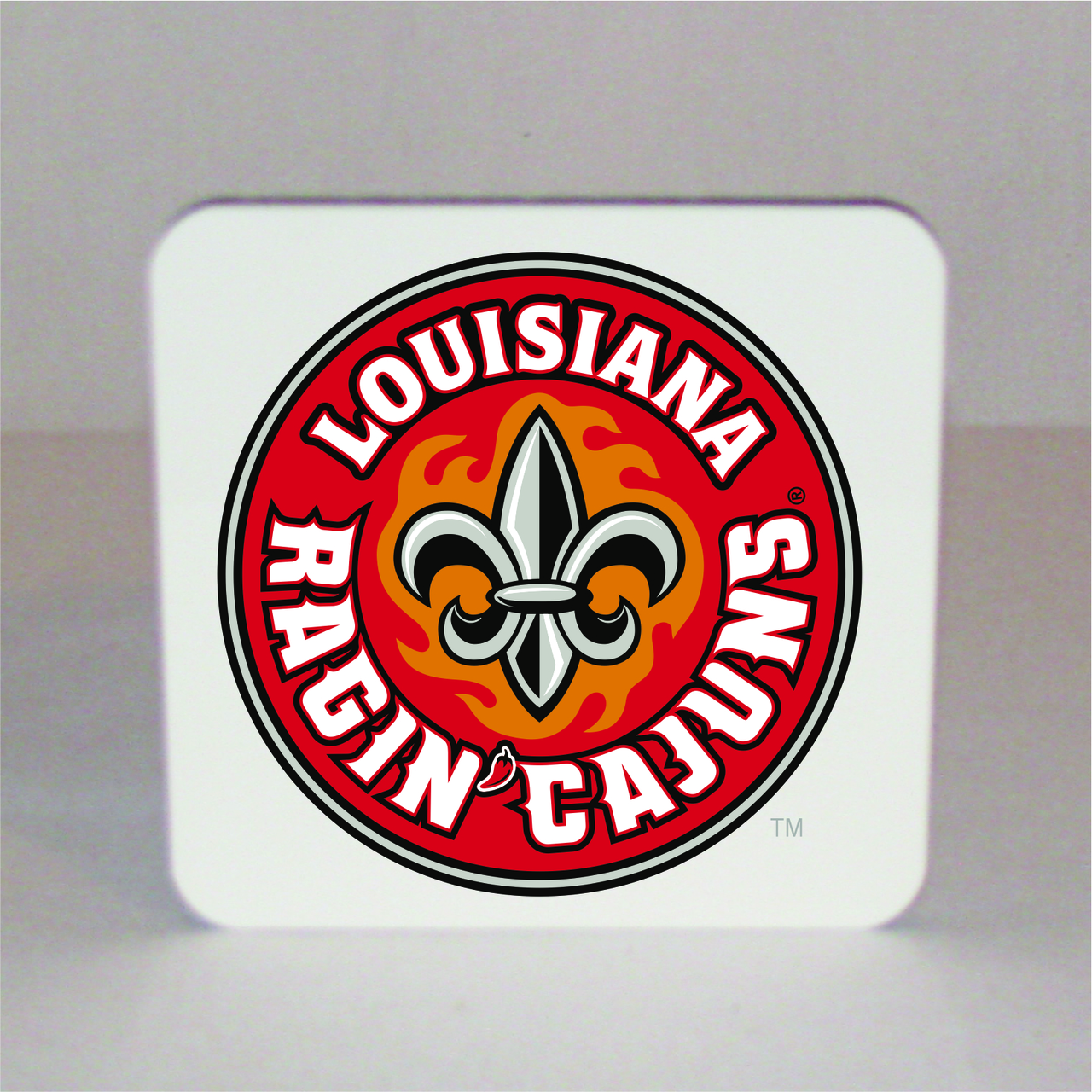 Louisiana Ragin' Cajuns Square Coaster