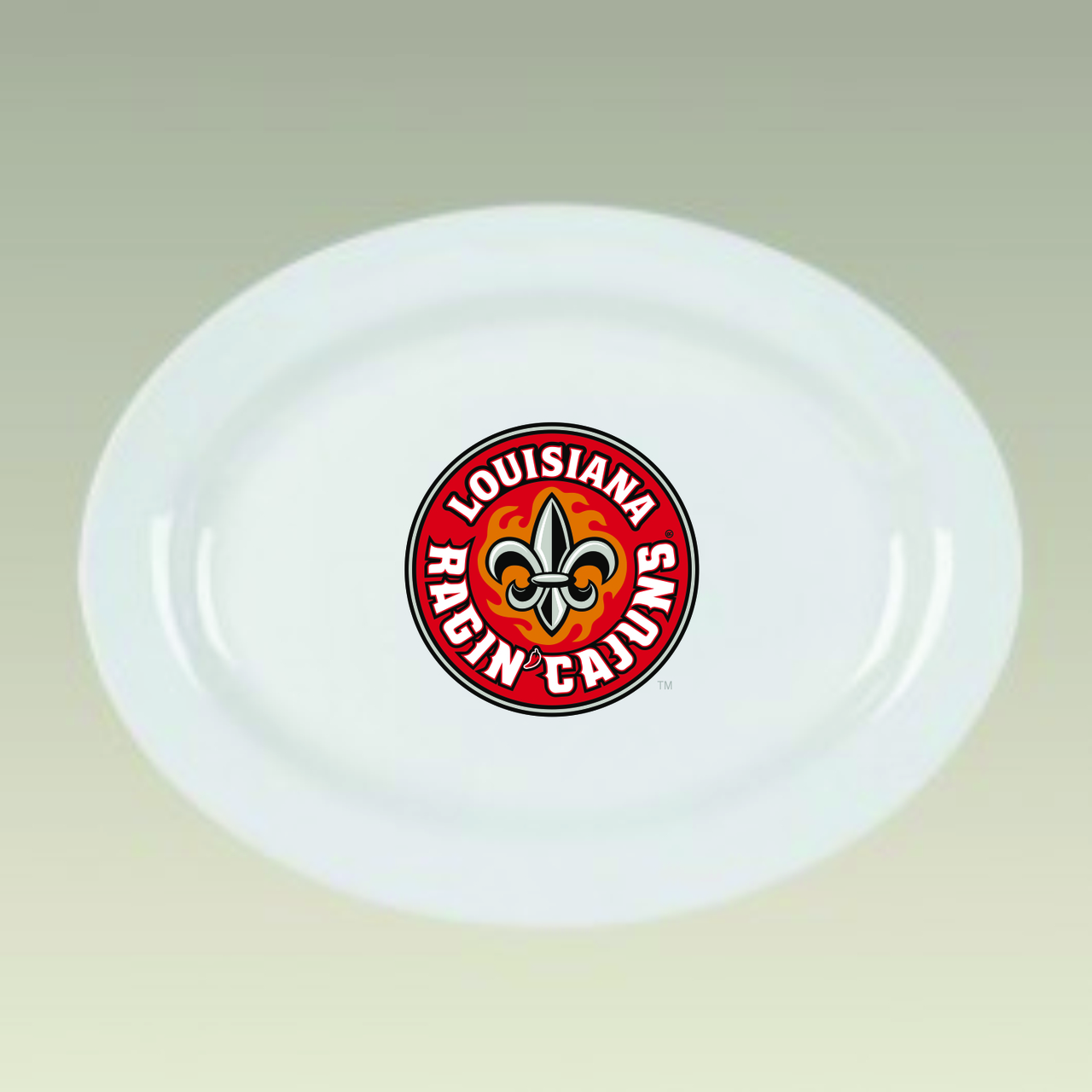 Louisiana Ragin' Cajuns Platter, 16