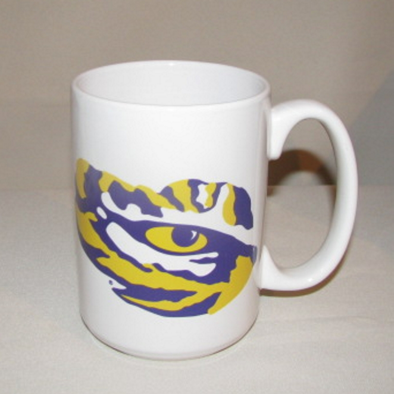 LSU Tigers Coffee Mug, 15oz.