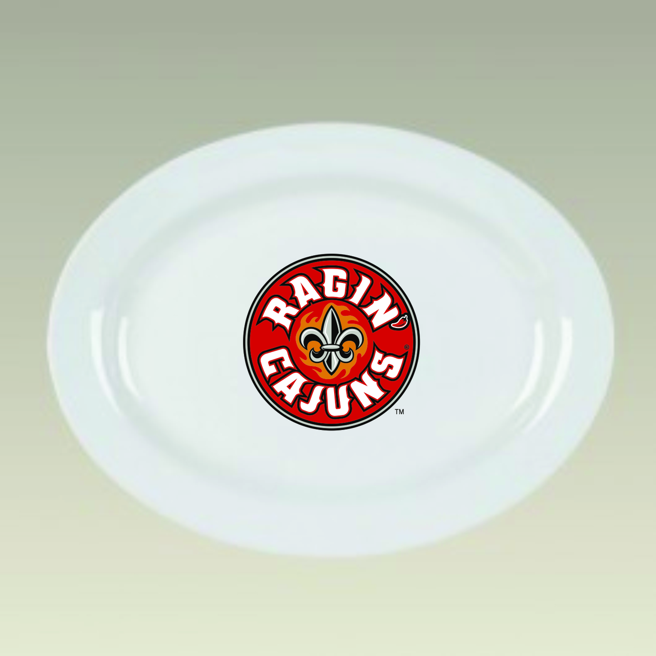 Louisiana Ragin' Cajuns Platters & Serving Accessories