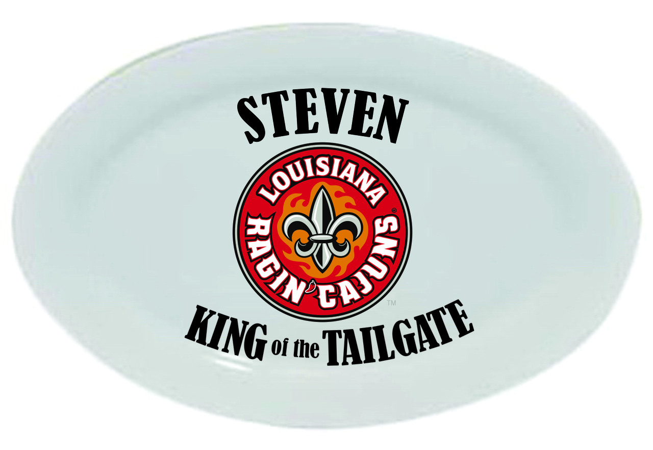 Louisiana Ragin' Cajuns King of the Tailgate Platter, 14
