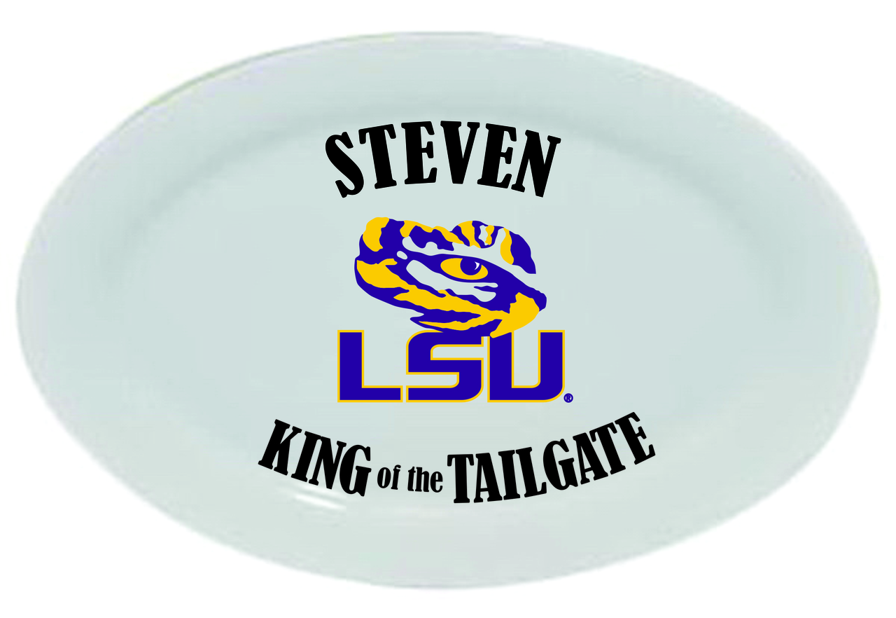LSU Tigers King of the Tailgate Platter, 14