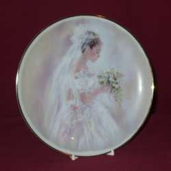 Bride Decorative Plate, 8 1/4