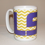 LSU Coffee Mug, 15oz.