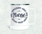Nurse Stainless Steel Mug, 15oz.
