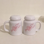 Crawfish Salt & Pepper Shakers (range style)