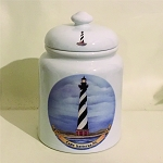 USA Coastal Lighthouse Cookie Jar, 10