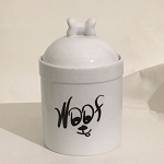 WOOF Dog Treat Jar