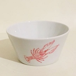 Crawfish Flared Styled Bowl, 5.5