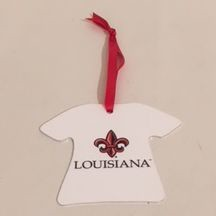 Louisiana Ragin Cajuns T-Shirt Ornament