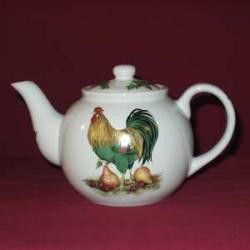 Rooster & Pears Teapot
