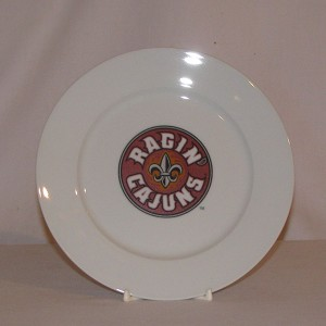 Louisiana Ragin' Cajuns Plate, 7 1/2