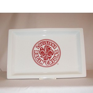 Louisiana Ragin' Cajuns Rectangular Tray, 12