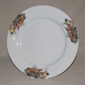 Seafood Rim Charger Plate, 12
