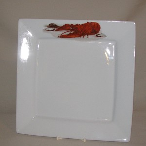 Crawfish / Lobster Square Plate, 10