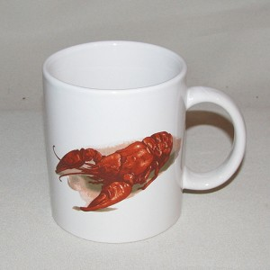 Crawfish / Lobster C-Handle Mug