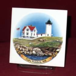 USA Coastal Lighthouse Trivet, 4