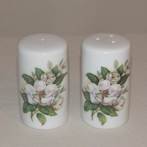 Magnolia Salt & Pepper Shakers