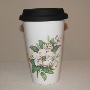 Magnolia Travel Tumbler