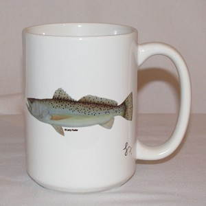 Fish Coffee Mug, 15oz.