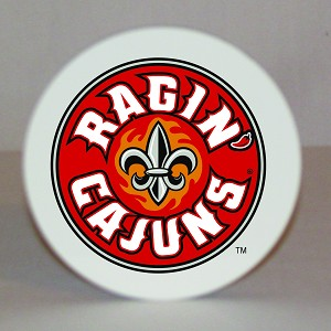 Louisiana Ragin' Cajuns Round Coaster