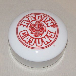 Ragin' Cajuns  Round Box