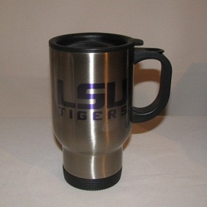LSU Travel Mug (stainless steel), 14oz.
