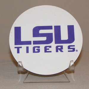 LSU Tigers Round Coaster
