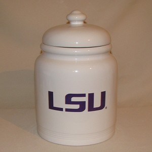 LSU Cookie Jar