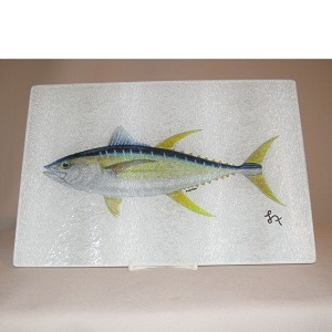 Fish Glass Cutting Board, 15