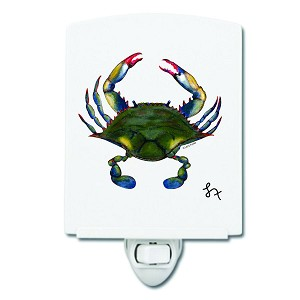Blue Point Crab Night Light